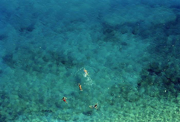 Swimmers. Varigotti
