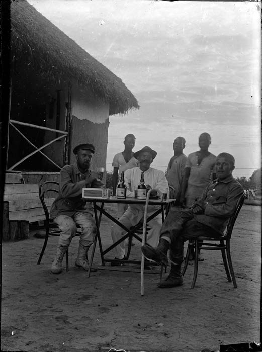 Evening toast. Deutsch-Südwestafrika. Photographer unknown