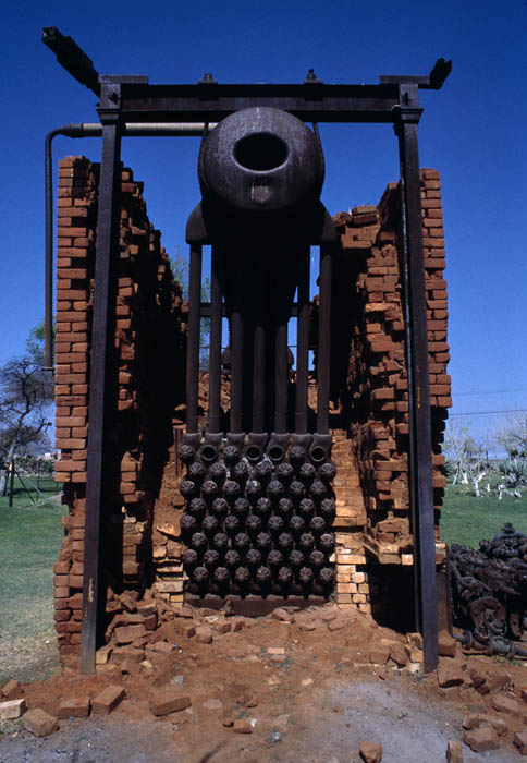 Disused water pump, Namibia, 1998