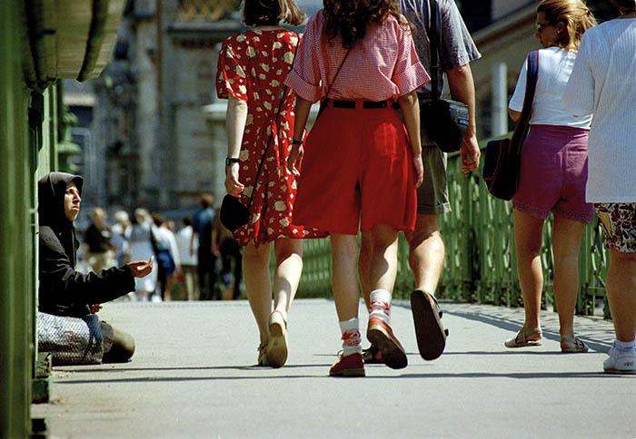 Gypsy. Budapest, 1996